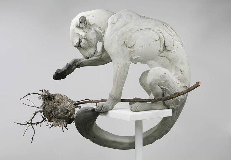 Follow The Black Rabbit – Les superbes sculptures d'animaux de Beth Cavener