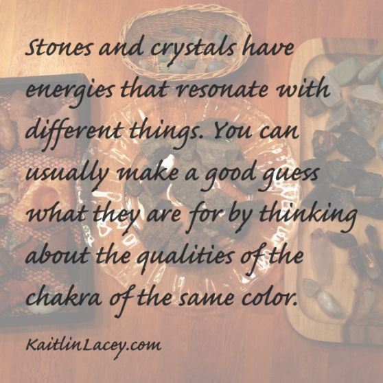 Want to know what crystals correspond to which energies? Use the chakra system to interpret their color, and you'll be on target about 85% of the time.