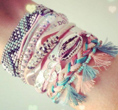 LAVENDAR BOUTIQU Boudoir bracelet from Hipanema $98