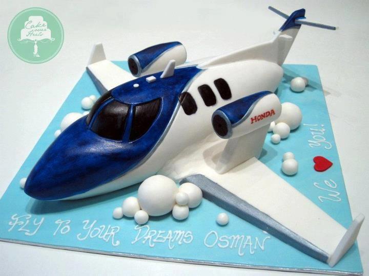 airplane cake Cake Design - Transport.. Pinterest