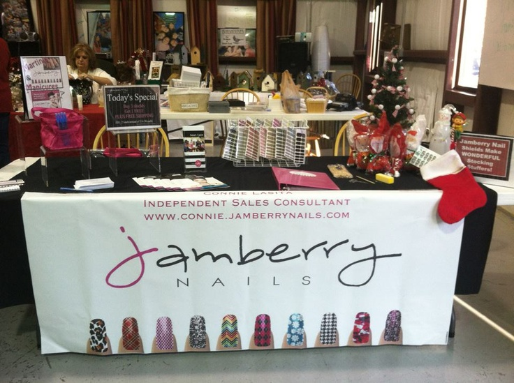 My very first Jamberry Nails vendor event!