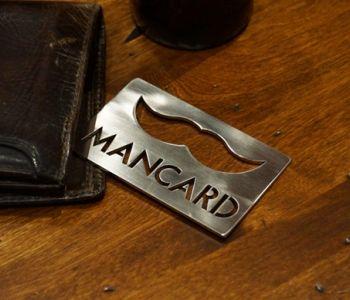 The Man Card/bottle opener