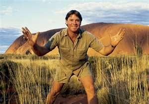 "Steve Irwin...""Crikey""!!"