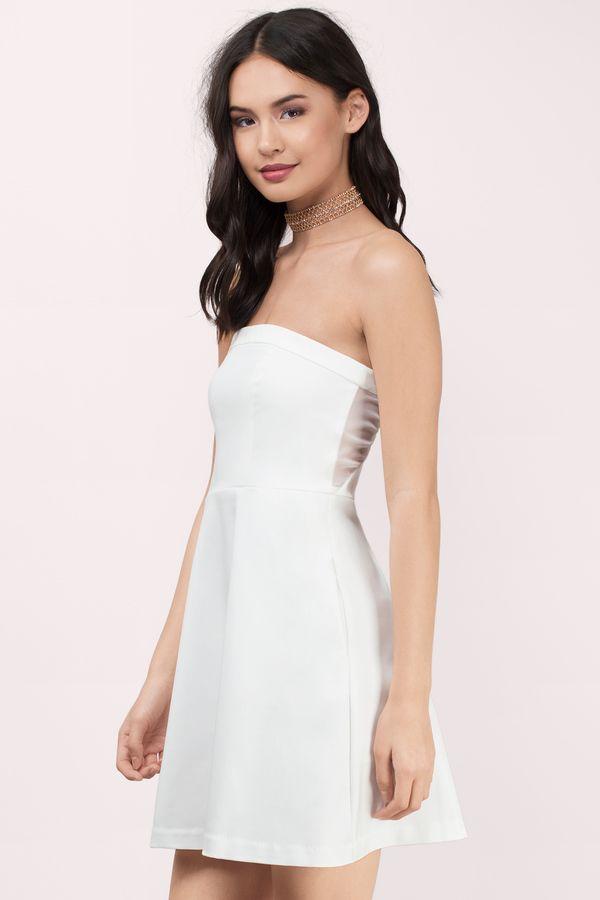 Cocktail dress 2018 white jeep