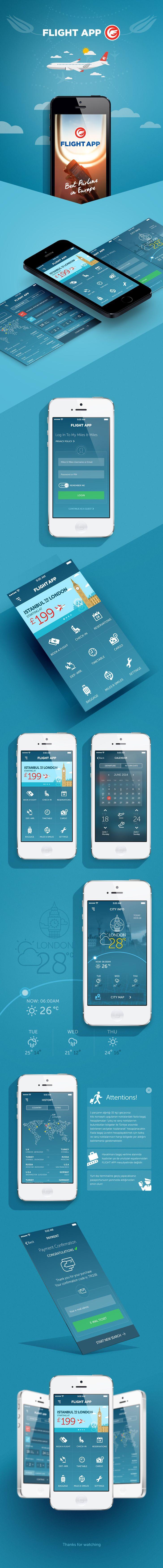 Flight App Design