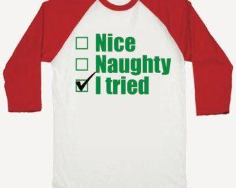 Kids Christmas Shirt, Baby Boy Christmas Shirt, Toddler Boy Christmas Outfit, Children's Christmas Shirt, Naughty or NIce List 003