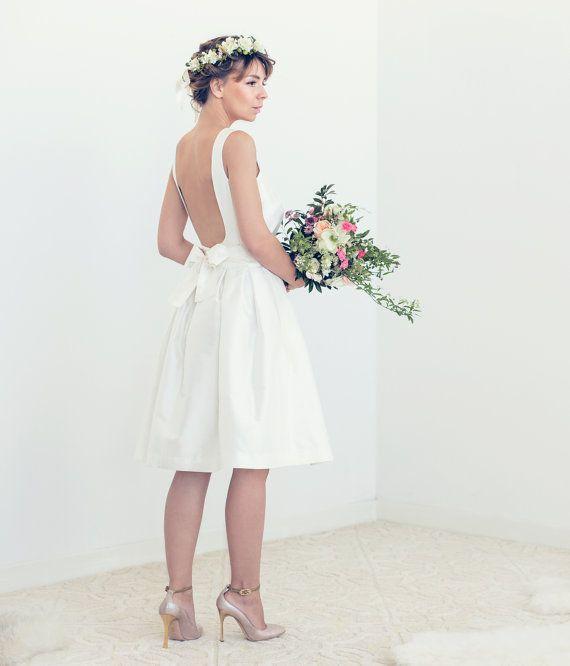 55 best Short Wedding Dresses images on Pinterest Short wedding