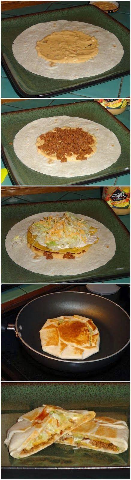 Yummy Crunchwrap Supremes ~ Tenacity Solution