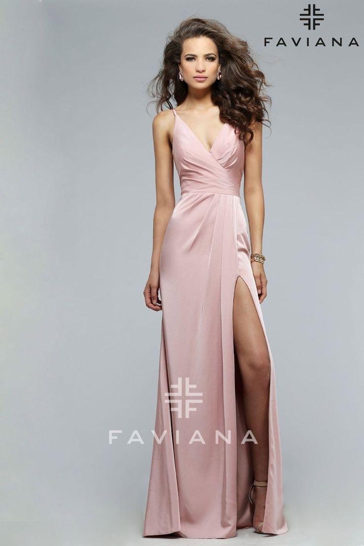 Slit Prom Dress
