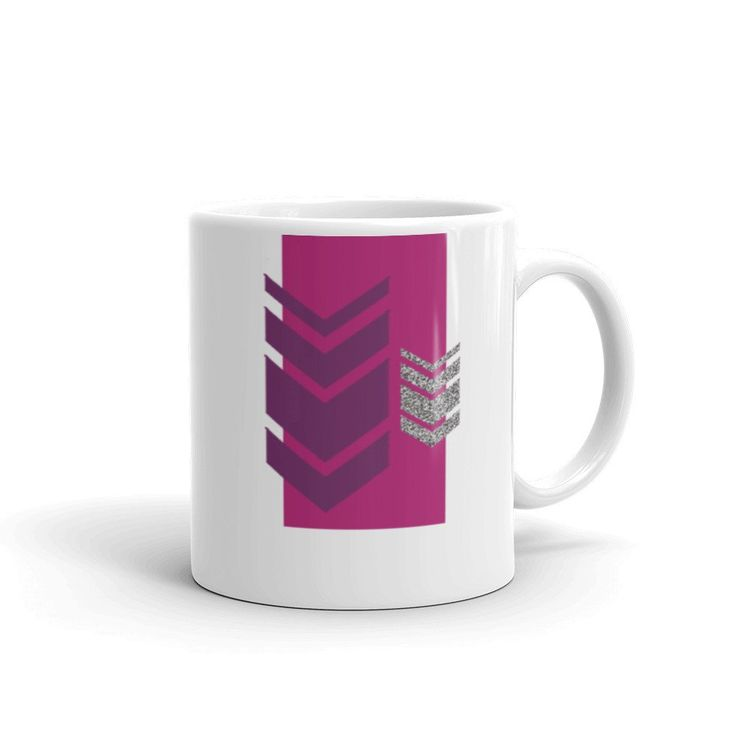 Jamberry Chevron Mug made in the USA by digital detours