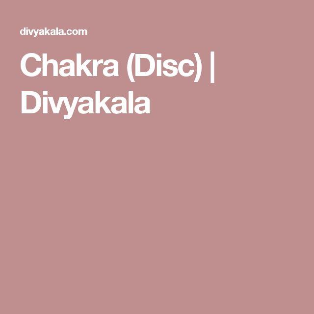 Chakra (Disc) | Divyakala