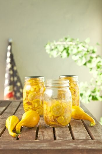 Sweet-Spicy Squash Pickles