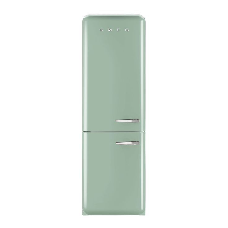 Smeg FAB32LNG 50's Retro Style Pastel Green Fridge Freezer