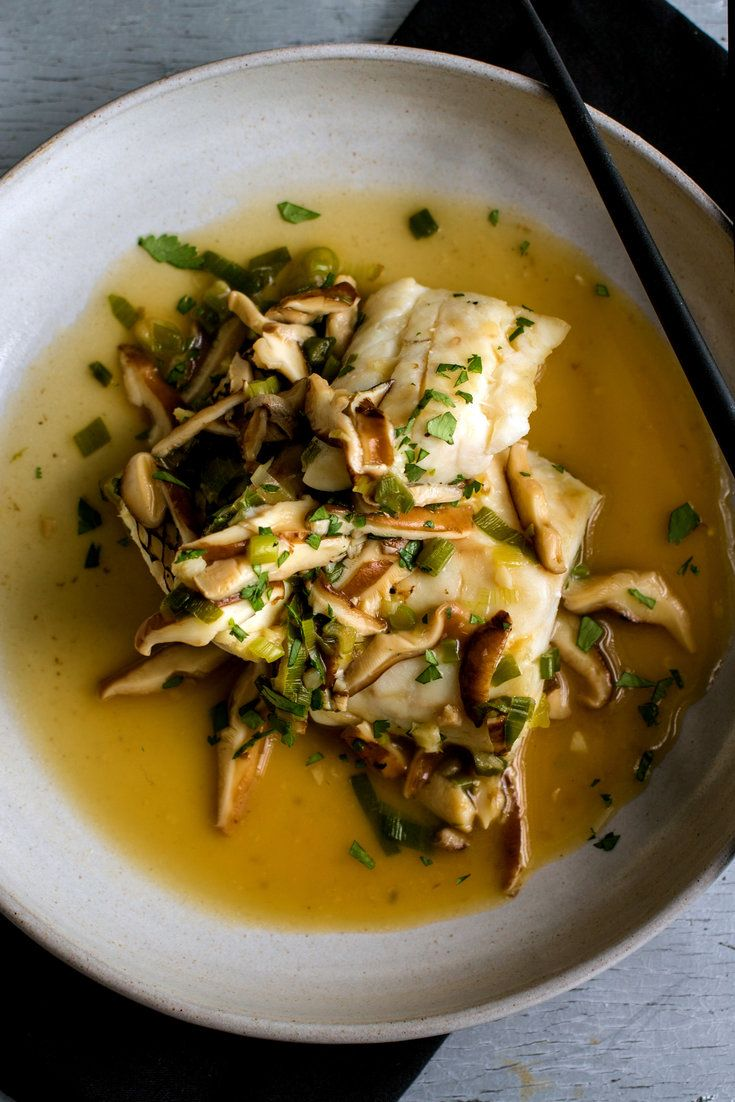 Fish with Shiitakes | NYT Cooking - This dish is the kind that, with a little experience, many good cooks could assemble from scratch, without consulting a recipe The aromatic triumvirate of garlic, ginger and scallions is matched with soy sauce, rice vinegar and fish sauce Shiitake mushrooms give substance and flavor, cornstarch thickens and sesame oil adds a whiff of toasty richness