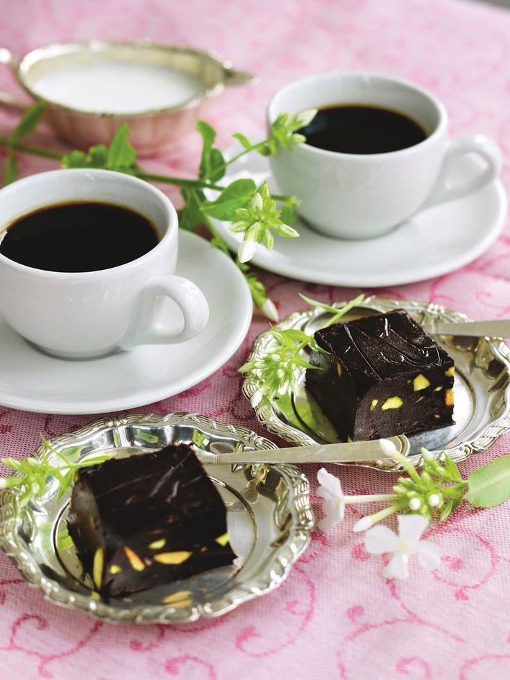 Recept: Chokladfudge utan socker och mjöl