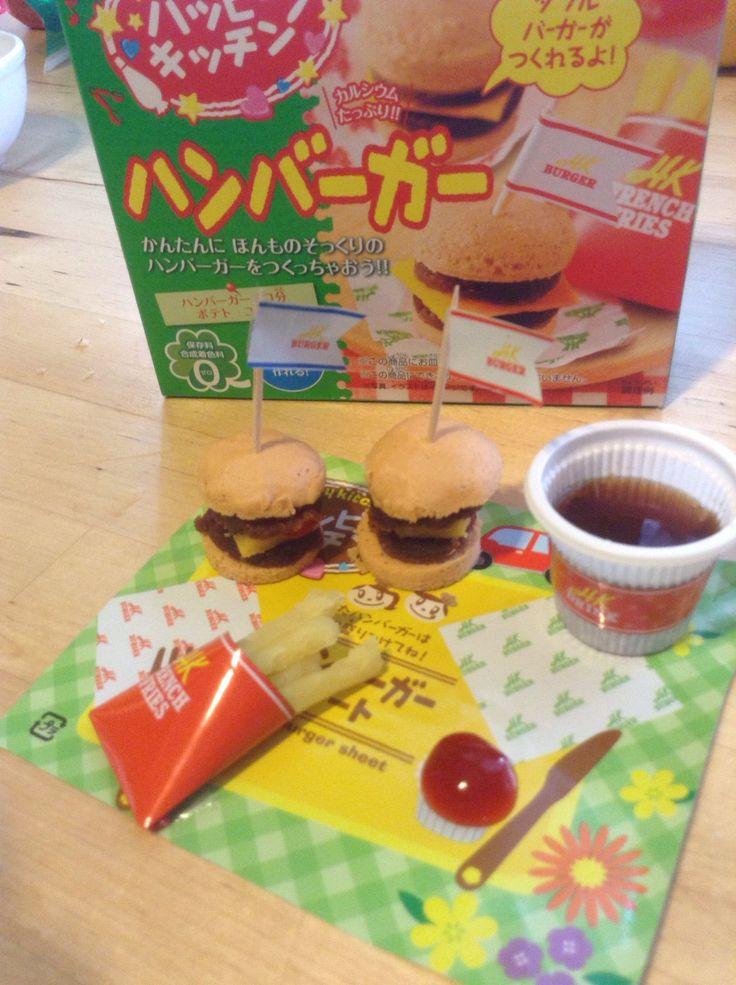 How to Make Kracie Popin Cookin HappyKitchen HamburgerDIY