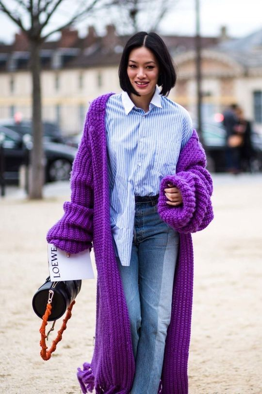 Street style from Paris Fashion Week autumn/winter '17/'18 - Vogue Australia