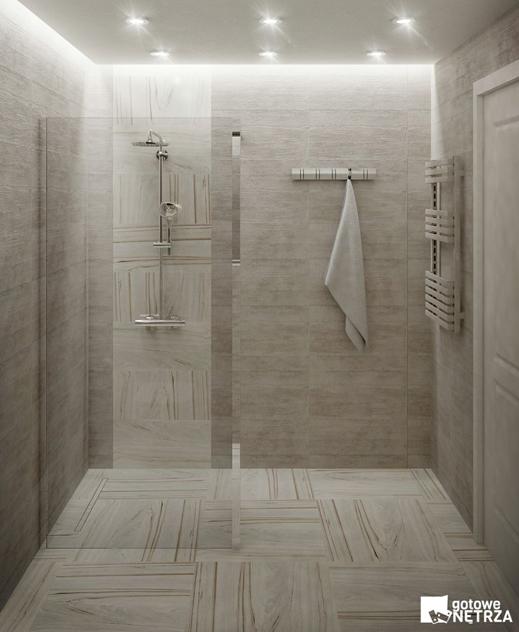 Minimalistyczna łazienka w szarości - Łazienka Geneva - projekt gratis http://gotowewnetrza.pl/sklep/lazienka-geneva/