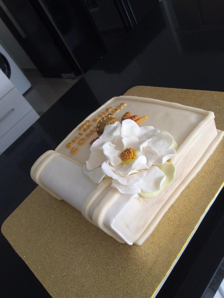 pastel primera comunión