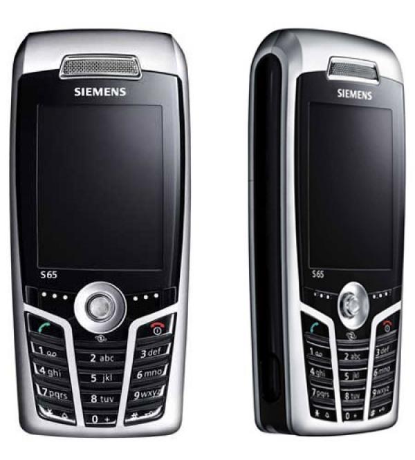 My 3rd cellphone (Siemens S65)