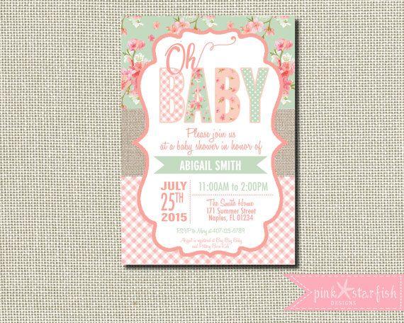 The 25 best Burlap baby showers ideas on Pinterest Burlap baby