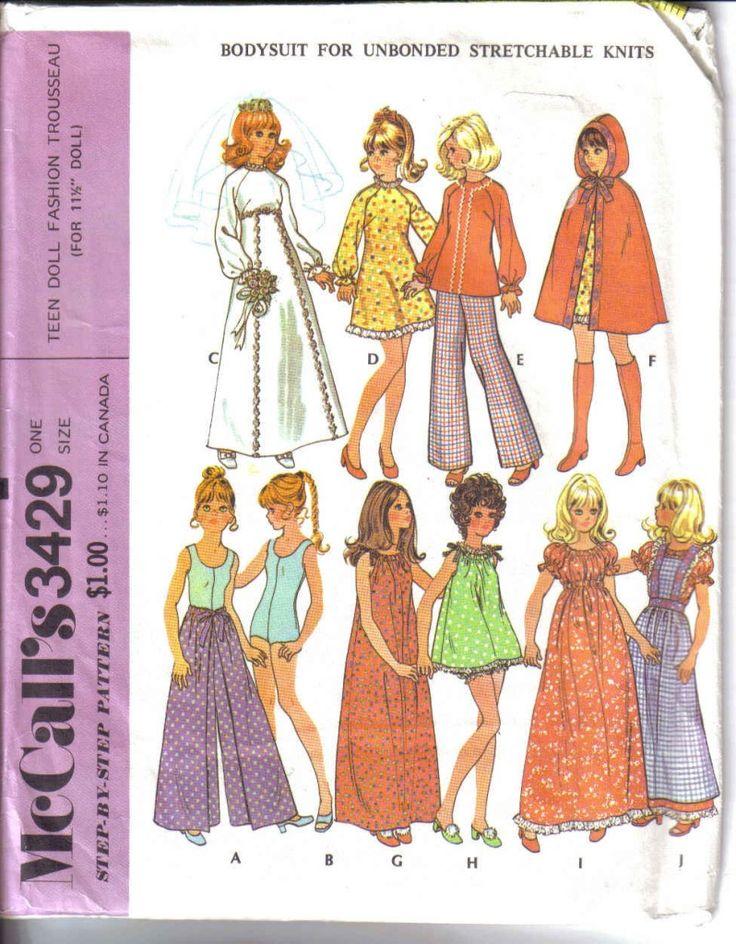 The 121 best Skipper pattern images on Pinterest   Barbie doll, Doll ...