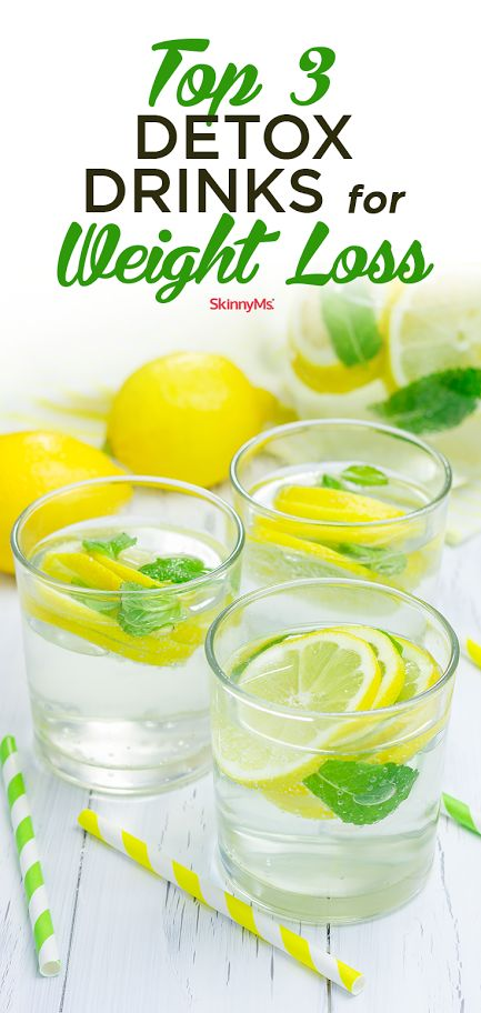 Top 3 Detox Drinks for Weight Loss