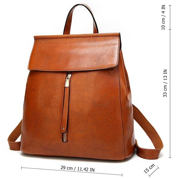 502989b41e70 Women Backpack Purse Casual Shoulder Bag Ladies Rucksack School Bag ...