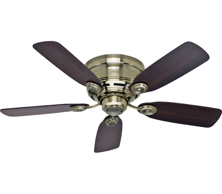 17 Best images about Ceiling Fans on Pinterest | Hunters, Ceilings ...:Hunter 51061 Low Profile IV 42 Inch New Bronze Ceiling Fan,Lighting