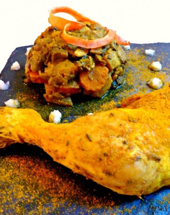 Un colombo de poulet, pour un vol direct en direction des Antilles ! :)  http://rappelletoidesmets.fr/colombo-de-poulet/