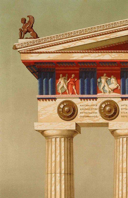 12 best ANTIQUE images on Pinterest | Ancient greek architecture ...