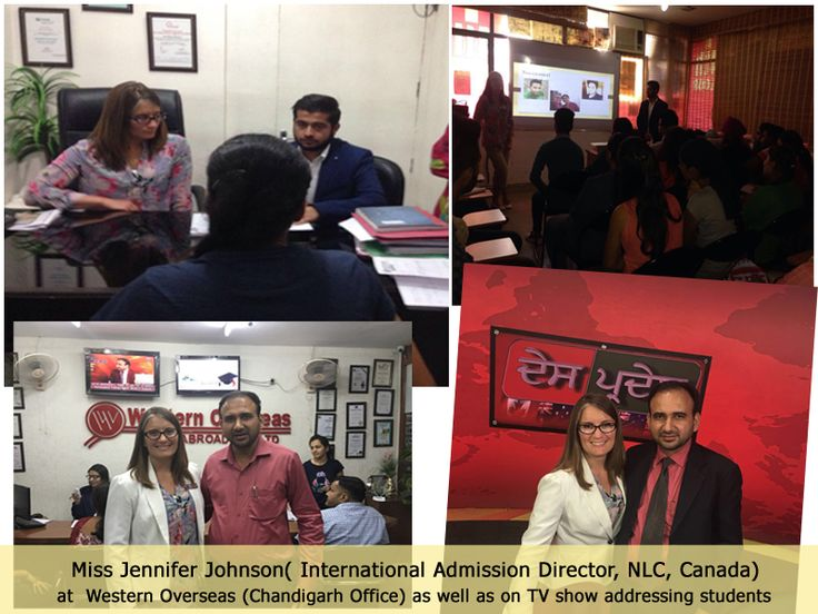 Successfull ‪#‎Canada‬ Education Seminar for Northern Light College by Ms. Jennifer Johnson (International Admission Director NLC, Canada) held in Western Overseas ‪#‎Chandigarh‬ Office If you miss this opportunity visit in our office for all details.9115017017