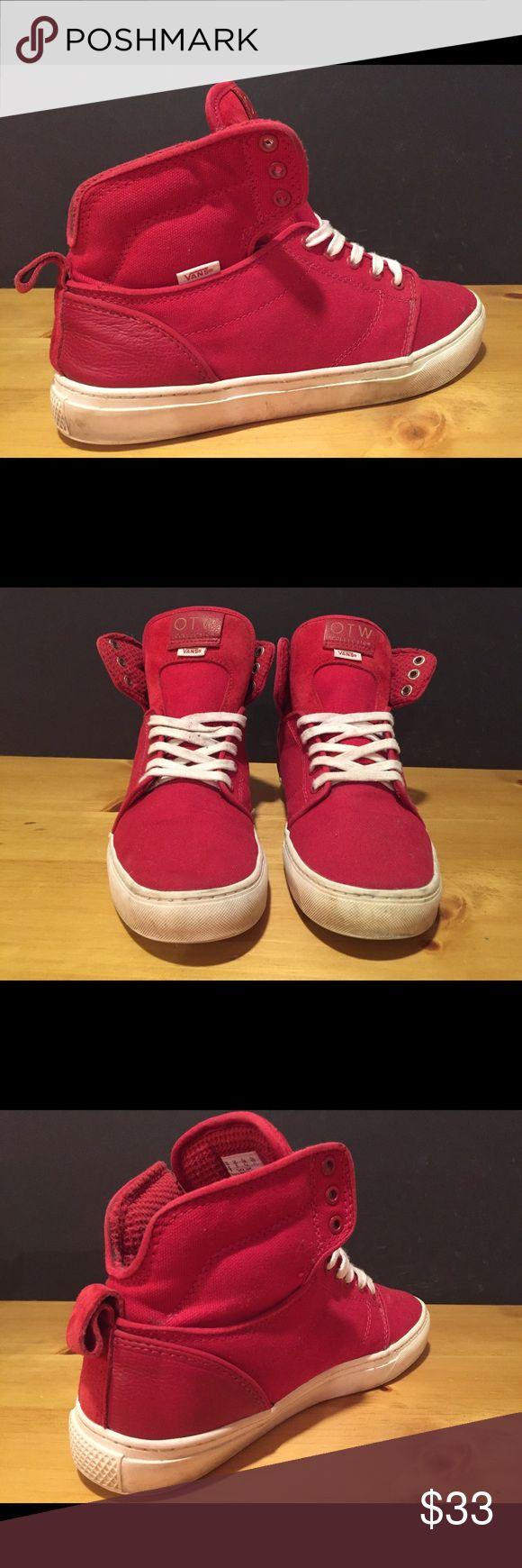 Vans OTW Collection Shoes - Men Size 9 - Red Vans OTW Collection Shoes - Men Size 9 - Red - Pre owned, good condition- See pictures Vans Shoes Sneakers