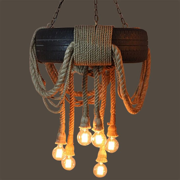 rope pendant light - Google Search