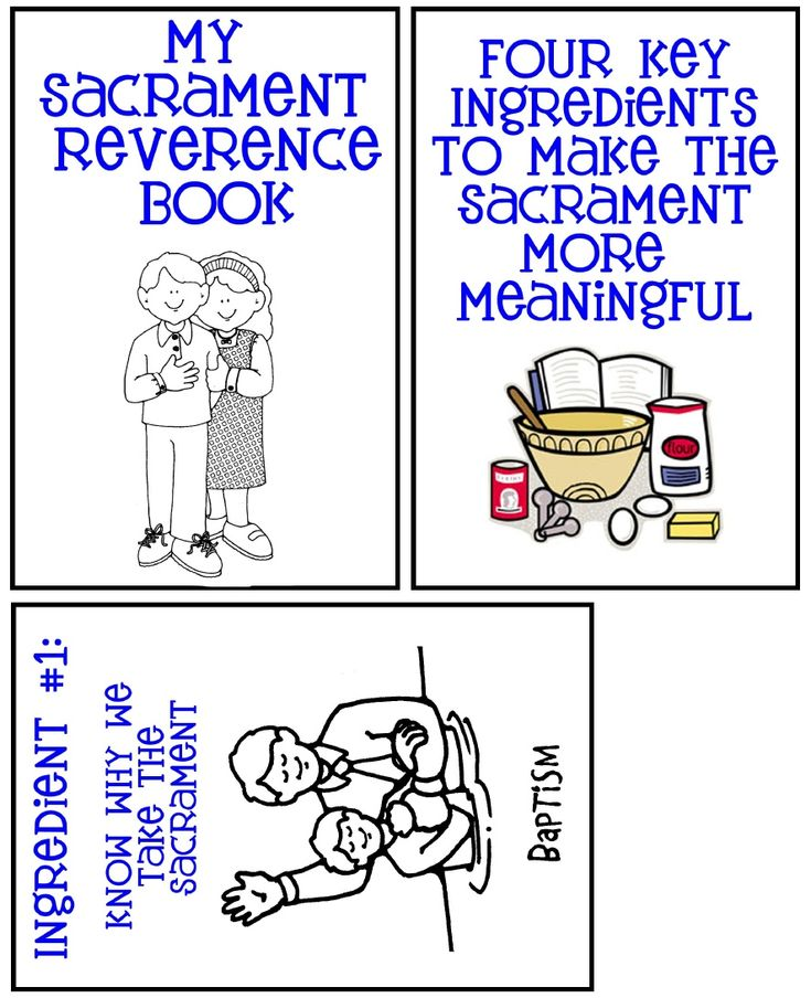 Sacrament Reverence book