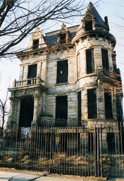 "It's called Franklin Castle (in Cleveland). Lots of ""haunted house"" legends about this house."