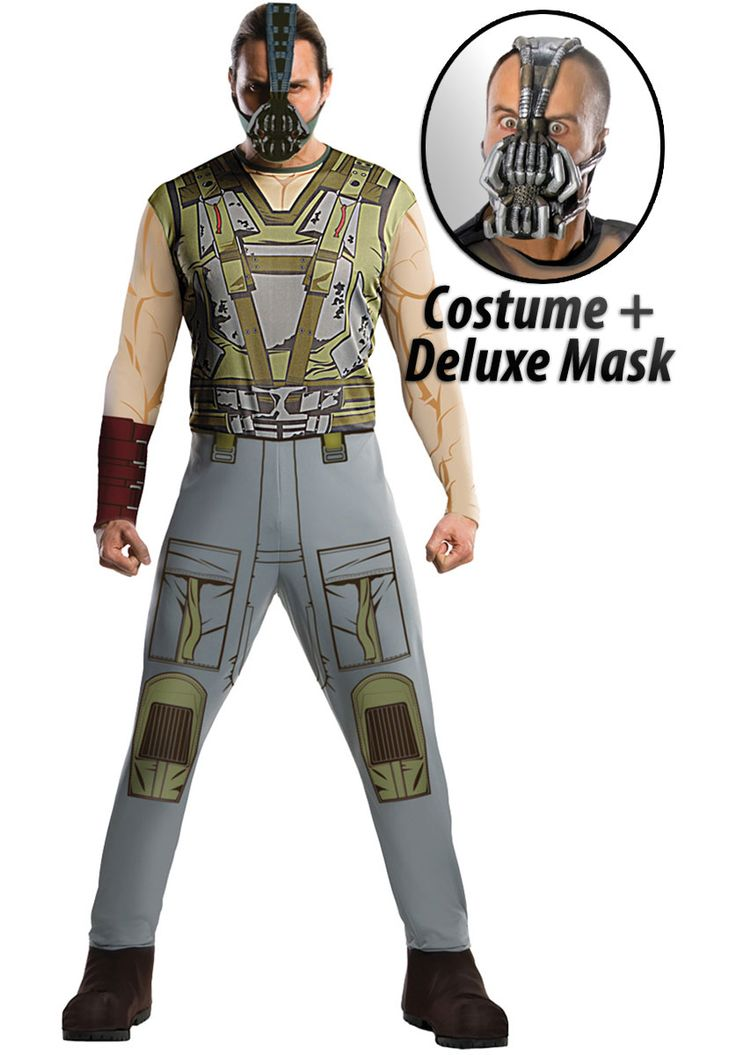Bane costume Set, Bane Fancy Dress Dark Knight Rises - Superhero Costumes at Escapade