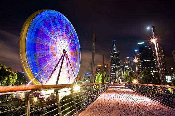 Giant Sky Wheel, Melbourne by Yury Prokopenko, via 500px