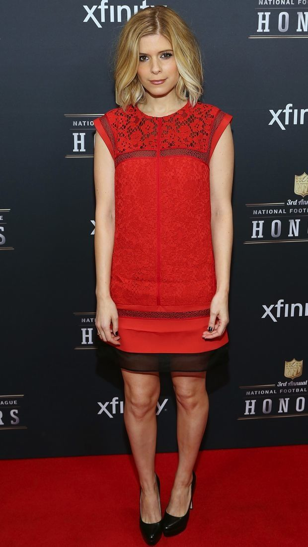 Kate Mara Scores Some Style Points at the NFL Honors Thanks to J. Mendel - theFashionSpot