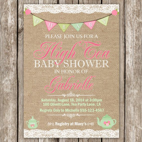 8564a212a6e842a6f2dc95ab811fa10b tea baby showers tea bridal showers best 25 tea baby showers ideas on pinterest,Tea Baby Shower Invitations
