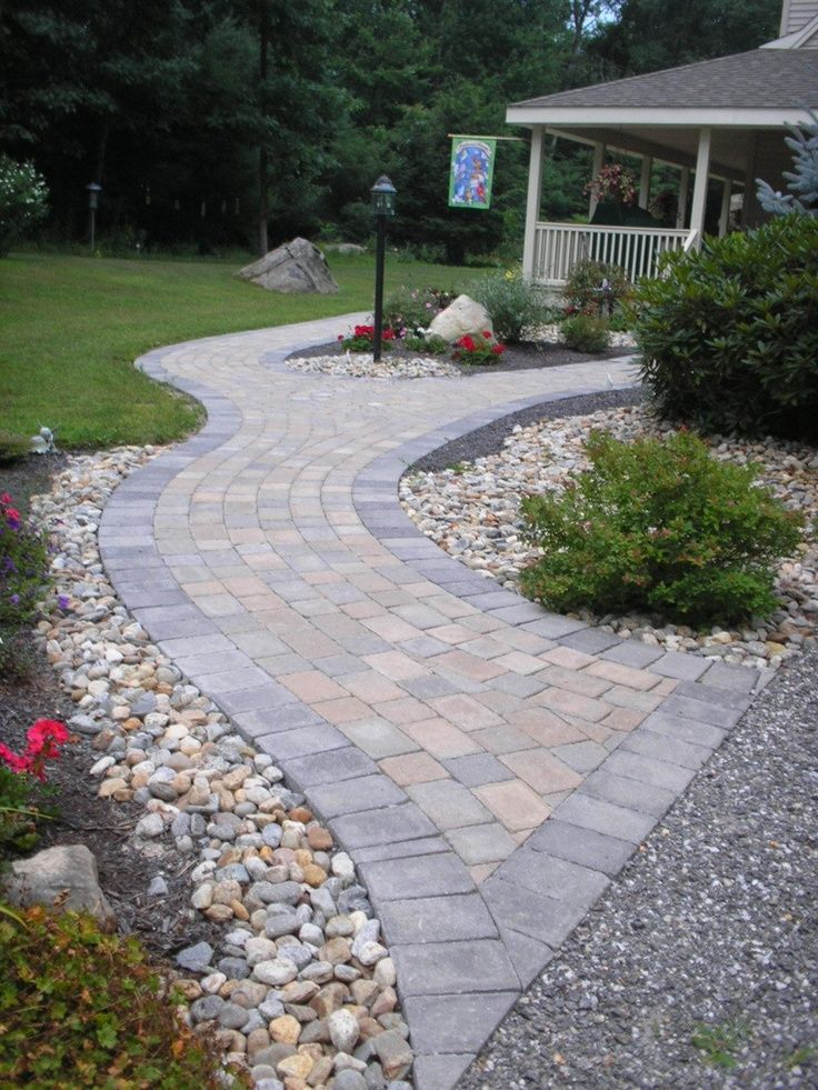 Best 25 Paver walkway ideas on Pinterest Front sidewalk ideas