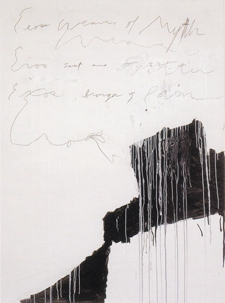 justanothermasterpiece:    Cy Twombly, Coronation of Sesostris, 2000.    via notes from the studio.