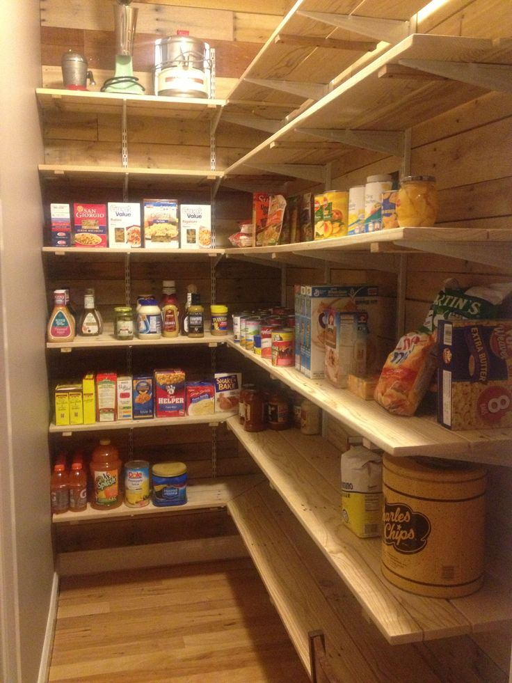 Kitchen Pantry Diy Projects: Pallet Pantry Built By Hunter Lamparter