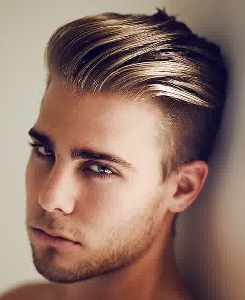 Men's Hairstyles: Highlight Color Short Hairstyle For Men 2014 ...
