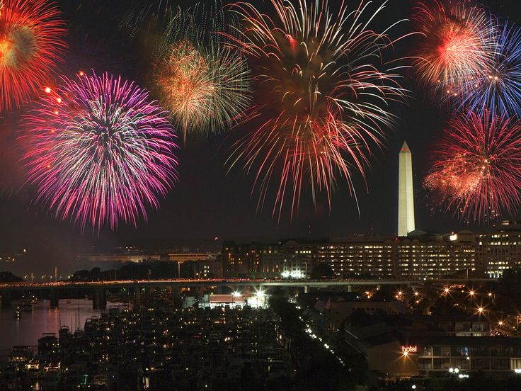 best places to watch july 4th fireworks in california