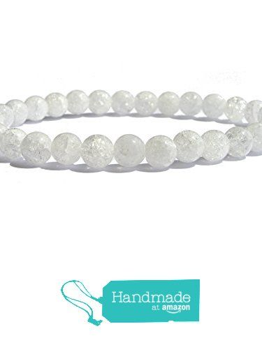 "ZENstore Crashed Crystal Quartz Healing Bracelet Natural Gemstones size 0.23"" 6mm Clarity Harmony Intention All Chakras from ZENstore https://www.amazon.com/dp/B071ZVDN7M/ref=hnd_sw_r_pi_dp_WirozbJBYZ2KD #handmadeatamazon  #Zenstore #chakra #gemstone #jewellery #fashion"