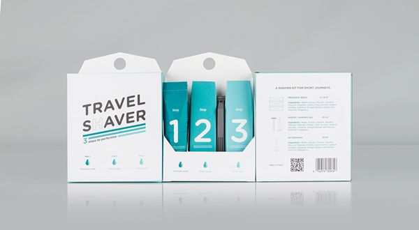 The TRAVEL SHAVER kit includes preshave wash pouches, a shaving gel tube, a razor and an aftershave tube. The products come in conveniently sized travel packaging. It is a complete shaving kit for the light weight traveller. The secondary packaging is not…