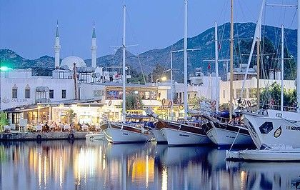 Oh how I miss you-The harbor in Yalikavak, Turkey.