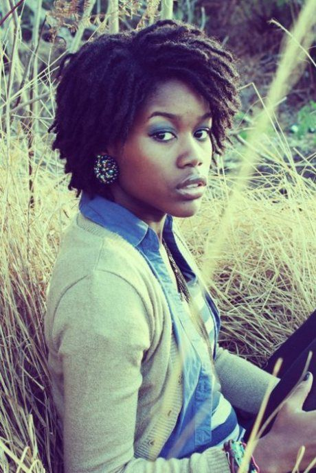 Her #dreads are great! I love that they have shape and looked well maintained. So cute!