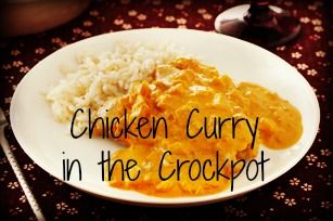 Chicken Curry in the Slow Cooker